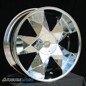 Greed Virtue 6x127 6x5 6x135 30mm Chrome Wheels Rims inch 22