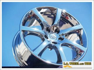 NEW 18 INFINITI G35 OEM CHROME WHEELS RIMS M35 M45 Q45 EXCHANGE 73672