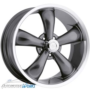 Vision Legend 5 5x115 10mm Gun Metal Wheels Rims inch 20