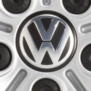 VW Alloy Wheel Centers Volkswagen New Hub Cap Center OEM Factory Logo