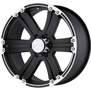 New 20X9 6 135 Black Rhino Dune Matt Black W/ Machined Lip Wheels/Rims