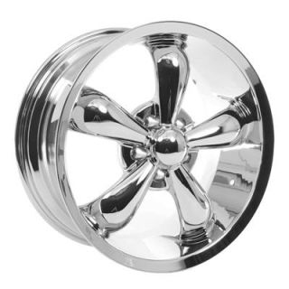 Summit Racing Legend 5 Series Chrome Wheel 18x8.5 5x115mm BC Set of