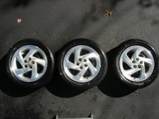 Set of Three (3) Pontiac Grand Am Rims Wheels and Tires Futura 775 205