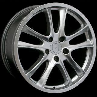 20 GTS Style Hyper Silver Wheels Rims Fits Porsche Cayenne and