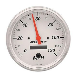 New Auto Meter Arctic White Series Electric Speedometer Speedo Gauge 3