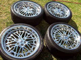 24 Chevy West Coast Choppers Cadillac Escalade Tahoe Suburban Wheels