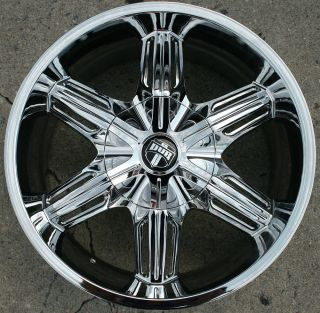 Dub Drone 6 S190 18 Chrome Rims Wheels Ford Expedition 18 x 8 5 5H 10