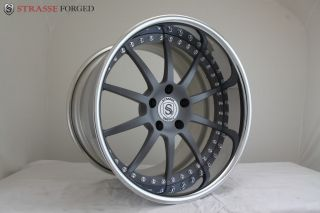 Strasse Forged 3 Piece Wheels 20 Custom Wheels
