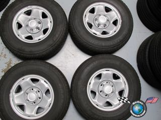 Toyota Tacoma Factory 16 Steel Wheels Tires OEM 69459 245/75/16 Dunlop