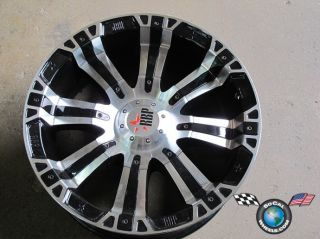 94R blank 20x9 +25mm black machined face wheel rim offroad race truck