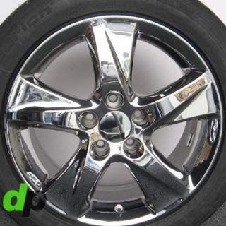 TSX Factory/OEM EcoDriven Chrome Wheels/Rims BFGoodrich A/S Tires TPMS