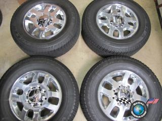 2011 Chevy HD 2500 3500 Factory 18 Wheels Tires OEM Rims 9597732