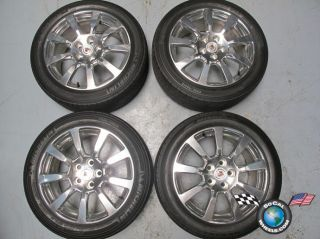 Cadillac CTS Factory 18 Polished Wheels Tires OEM Rims 9597605 5x120