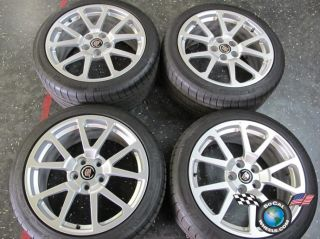 Cadillac CTS CTS V Coupe Factory 19 Wheels Tires Rims OEM 4647 4649