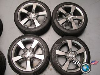Chevy Camaro Factory 20 HyperSilver Wheels Tires OEM Rims 5444 5446