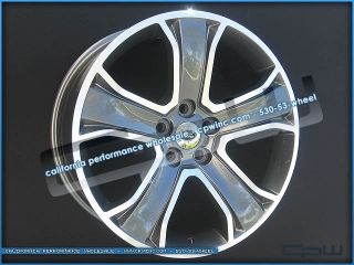 Package 20 inch Land Range Rover Rims Gun Metal Machined Face