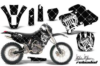 AMR Racing Motorcycle Background Graphic Kit Yamaha WR 250f 426F 400F