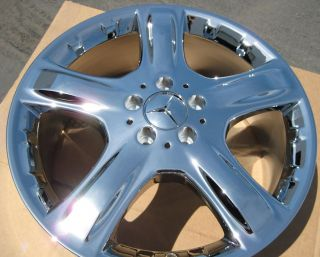 Mercedes ML350 ML500 R320 Chrome Wheels Rims Exchange Stock