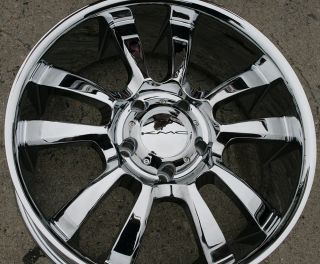 KMC Skitch 673 20 Chrome Rims Wheels RAM 1500 2 4WD 94 10 20 x 8 5 5H