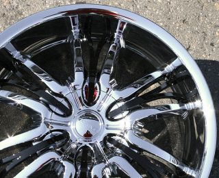Cattivo 767 20 Chrome Rims Wheels Lincoln LS V6 V8 rwd 20 x 8 5 5H 45