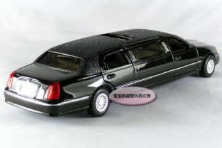 New Lincoln 1999 Town Car 1 38 Alloy Diecast Model Car with Box Black