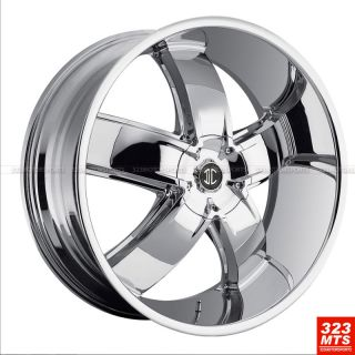 24 inch Rims Wheels 2CRAVE 18 Chevy GMC Yukon Cadillac Wheels