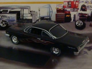 Flamed 62 Chevy Bel Air 409 Bubble Top 1 64 Scale Ed 4 Detaied Photos