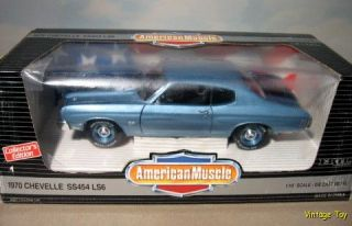 1970 Chevelle SS 454 w/ Dog Dish   Early 118 ERTL American Muscle