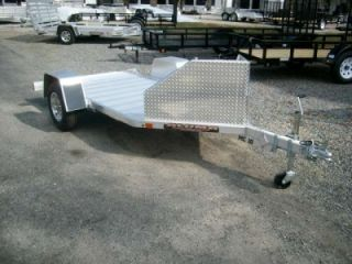 Aluma MC10 Single Motorcycle Trailer Cargo Utility Trailer New