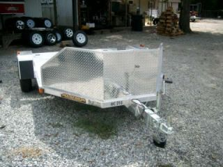 Aluma MC210 Double Motorcycle Trailer Cargo Utility Trailer New