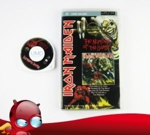 PSP UMD MUSIC  IRON MAIDEN  THE NUMBER OF THE BEAST in OVP