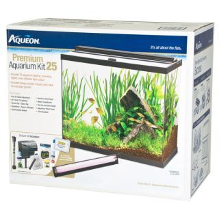 25 Gallon Fish Tank � Aqueon 25 Gallon Premium Aquarium Kit