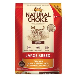 Nutro� Natural Choice� Large Breed Senior Chicken, Whole Brown Rice & Oatmeal Formula Dog Food   Sale   Dog