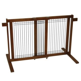 Crown Pet  Freestanding Gate with Security Arms   Gates & Exercise Pens   Dog