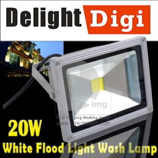10W IP65 RGB Waterproof LED Spot Flood Wall Wash Light + Remote