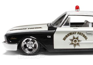 1960 Ford Starliner Highway Patrol 124 Scale Diecast Model