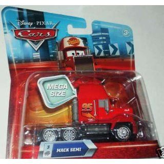 Disney Pixar   CARS   Movie Collection   MEGA SIZE   MACK SEMI #3