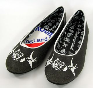 Oldschool Swallow BALLERINAS Rockabilly Emo Punk
