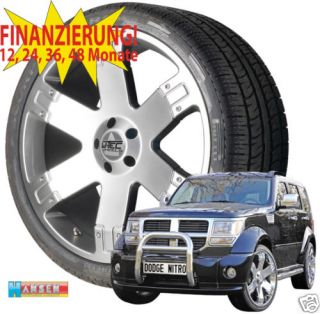 TEC 9 x 20 Felgen Wheels + 275/45R20 Dodge Nitro 07