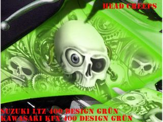 INVISION DEKOR KIT SUZUKI LTZ 400 HEAD CREEP DECALS B