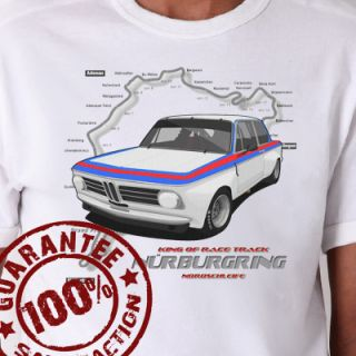 BMW 2002 TI Turbo E114 Rally Racing T shirt XS 3XL #479