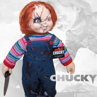 Chucky from Childs Play 2, looking just as cuddly as ever. Complete