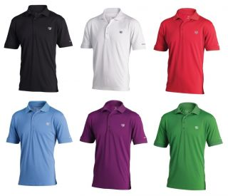 2012 WILSON STAFF TOUR AUTHENTIC GOLF POLO SHIRT