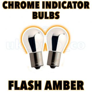 2x Chrome rear Indicator Bulb BMW Mini one / cooper / S