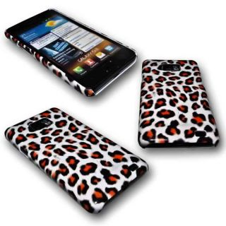DESIGN HARD BACK HANDY COVER CASE SAMSUNG i9100 Galaxy S2 LEOPARD