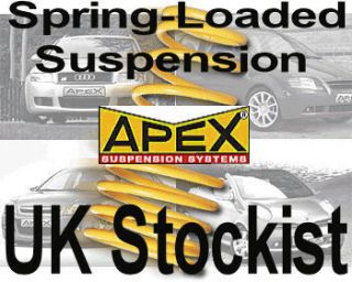 Mazda 626 Mk5 4cyl Apex Lowering Springs Kit  35mm