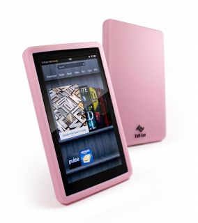Tuff Luv Silicone skin & screen protector for Kindle Fire   Pink