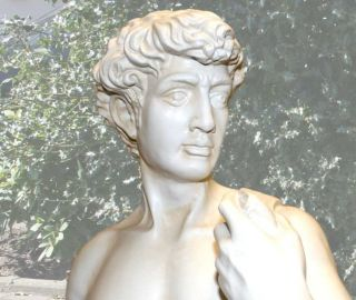 GROSSE STATUE DAVID von MICHELANGELO # REPLIK # FIGUR