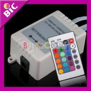 IR Remote Control Controller for 5050 SMD RGB LED Strip