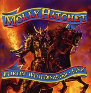 FLIRTIN WITH DISASTER   MOLLY HATCHET   CD + DVD VIDEO